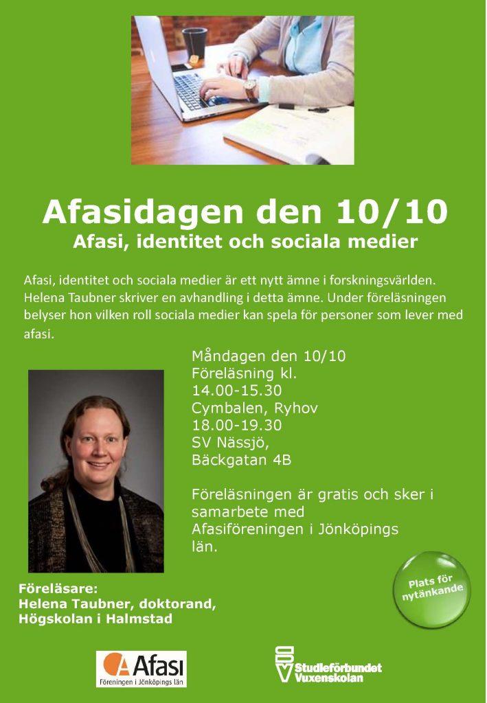 afasi-identitet-och-sociala-medier-affisch