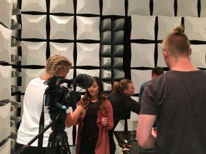 Inspelning för På Spåret den 8 juni 2016