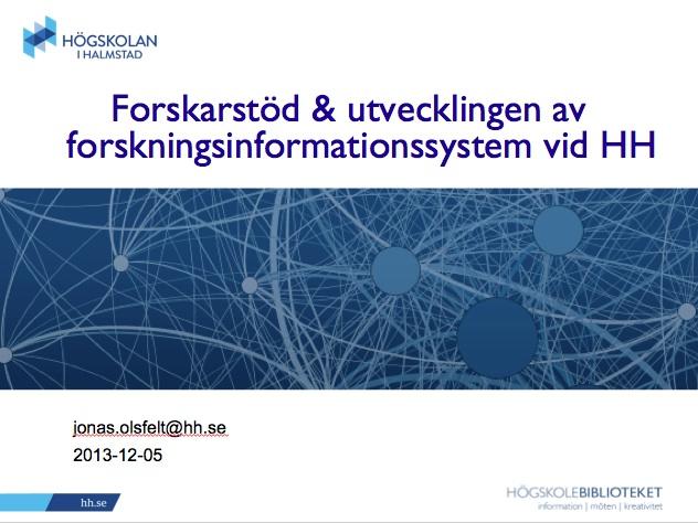 Workshop-presentation