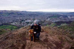 Arthur's seat är en utkiksplats i Edinburgh.